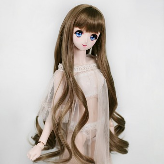 "BJD 8-9"" wig WM-021 (Sandy Brown)"