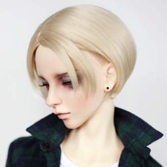 "BJD 8-9"" wig WM-020 (Shine Blond)"