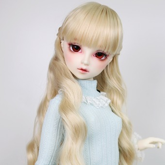 "BJD 8-9"" wig WM-025 (Shine Blond)"