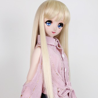 "BJD 8-9"" wig WM-024 (Shine Blond)"